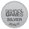 School Games Silver Award Logo